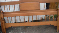 Double Vilas head board and footboard