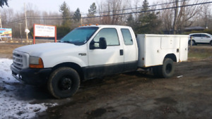 F-350 camion travail work