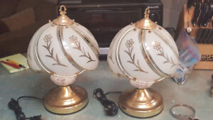 """Park Madison 14"""" touch lamps"""