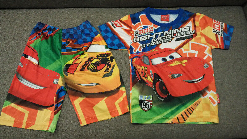 Preloved Children's Clothing Set3 - Car T-Shirt + short