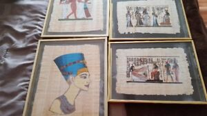 Original certified Papyruses from Egyptian Embassy