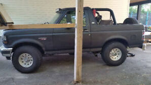 1996 ford bronco 5000$ or trade