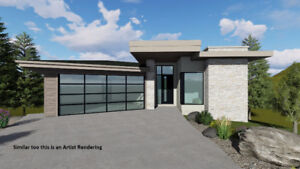 STUNNING NEW MODERN HOME with a view of Dilworth Mountain