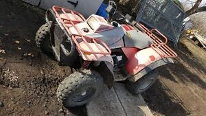 Selling 1992 Polaris 350 quad