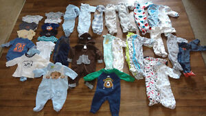 0-6 Month Baby Boy Clothing - LOT