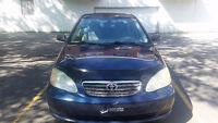 2005 Toyota Corolla Sedan POWER WINDOWS & AC& REMOTE STARTER