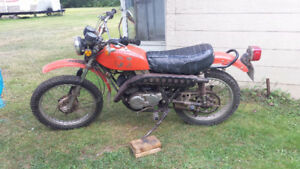 Kawasaki 1974 F7 For Sale by Owner