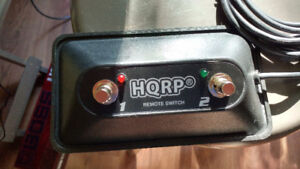 HQRP 2-Button Guitar Amp On/Off Footswitch with LED and 1/4-Inch