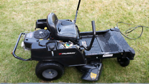 "New Zero turn 34"" lawn mower ride on tractor"