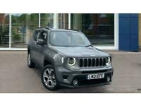 2021 Jeep Renegade 1.3 GSE T4 11kWh Limited Auto 4xe (s/s) 5dr SUV Petrol Plug-i
