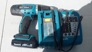 Makita BDF453 18 Volt Drill $140. Prince George British Columbia image 1