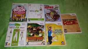 For sale, video games bundle,all  for 25 dollars.as is.