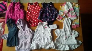 12-18 months girls clothing. $25 for 10 items Kitchener / Waterloo Kitchener Area image 1