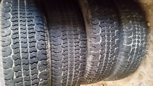 4  -  P215/75R/14  Studded winter tires