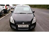SUZUKI SPLASH 1.2 GLS MET BLACK 60K MILES NEW CLUTCH ALLOYS CHEAP INS 58 REG