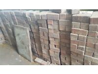 400+ Brick pavers (reclaimed)