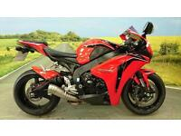Honda CBR1000RR **DOUBLE BUBBLE SCREEN, LEO VINCE GP EXHAUST, BRAIDED LINES**
