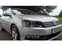 Volkswagen Passat 2.0 TDI S DSG 140PS Good / Bad Credit Car Finance (silver) 2011