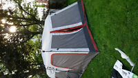 New easy up 10 man Coleman tent