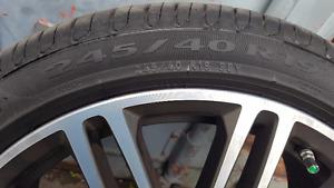 Pirelli Cinturato P7 All Season Tires- Almost Brand New-4 Tires