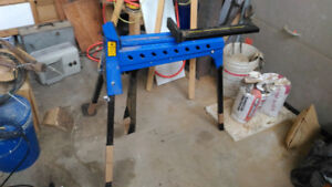 portable clamping station