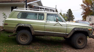 1981 Jeep Cherokee Wagon