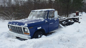 1979 F350  ton 1/4    moving need sold.
