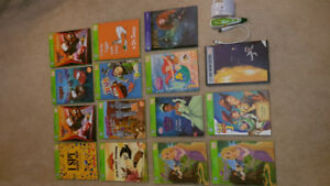 LEAP FROG Tag Reader books, pen, map and solar system