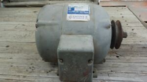 1-Hp Tecomaster Farm Duty Electric motor