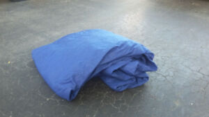 Car - Large Blue Cloth Car Cover - Perfect Condition