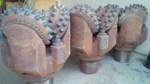 Cash Paid for Used Oilfield and HDD Tricone drill bits