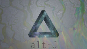 TWO ALT-J TICKETS FOR SALE