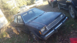 ***RARE 198O PHYMOUTH/MITSHABISHI  COLT 2 DOOR 8 SPEED MANUAL***