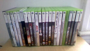Jeux Xbox360 et PS3 / Xbox 360 and PS3 games