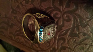 2001 stanley cup colector's ring
