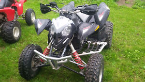 Trade 06 polaris outlaw 500 for sled