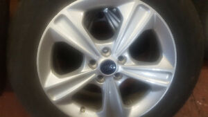 2014 Ford Escape new tires and rim. Windsor Region Ontario image 1