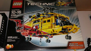 Technic Rescue Helicopter 9396 - In the box- 160 $