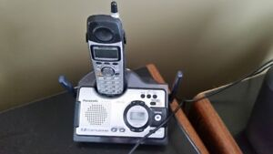 Portable Phone and Answering Machine - All-In-One Unit