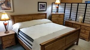 Made in BC bedroom suite, pick your stain, hardware, & size,from