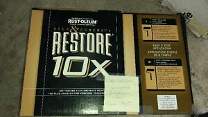 Restore X10 - outdoor concrete paint