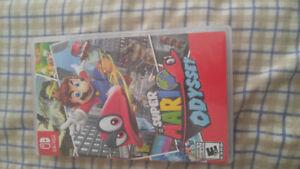 Slightly used Super Mario Odyssey