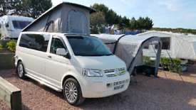 VW T5 TRANSPORTER T32 LOW MILES plus AWNING
