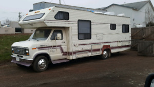 1986 Ford motor home forsale