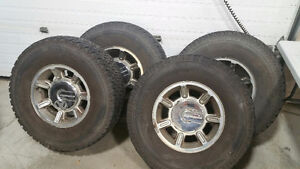 HUMMER H2 OEM Used RIMS and TIRES