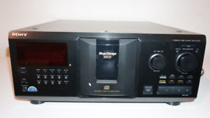 Sony Mega Storage 300 CD Compact CDP-CX355 CD Player