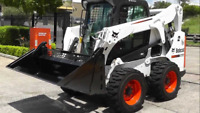 Bobcat excavation and landscaping services