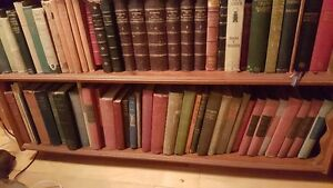 BOOK SALE - hardcovers $3-$4 each some antique, leather, etc