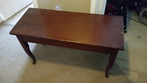 2 person piano bench solid wood