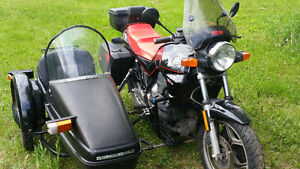 Bmw K75 with Velorex sidecar